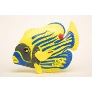 Steepletone Angel Fish Water Resistant Shower / Bathroom MW / FM Radio - Large Size - Yellow