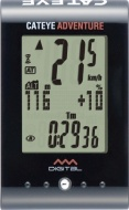 Cateye Adventure Cycling Computer - Black
