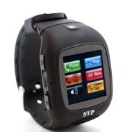 G13 Black GSM Quad-band Watch Phone ~ UNLOCKED ~