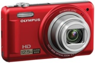 Olympus Red 14MP/12.5X Zoom Digital Camera