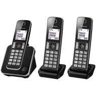 Panasonic KX-TGD313ED Digital Cordless Phone with Nuisance Call Control, Trio DECT