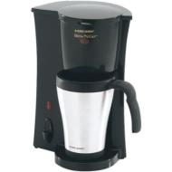 Black & Decker Brew N Go Personal Coffeemaker - Black & Silver