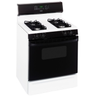 Hotpoint RGB745BEH 30 Inch Freestanding Gas Range with 4 Sealed Burners