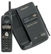 Panasonic KX TC1723 - cordless phone w/ call waiting caller ID