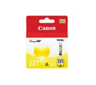 Canon CLI-221 Ink Cartridges - Assorted, Cyan, Magenta, Yellow - Inkjet - 4 / Pack CLI221CLPK