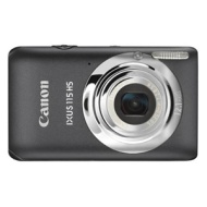 Canon IXUS 115 / 12.1 MP / 3 Inch LCD Screen / 4x Optical Zoom / Grey