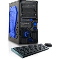 CybertronPC Borg-709 (Red) TGMBG70945RD Gaming PC (3.5 GHz AMD FX-6300 6-Core, 1GB GeForce GTX 750, 8GB DDR3 1600MHz, 1TB HDD, WiFi, Windows 10 Home