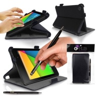 Google Nexus 7 ii Tablet Case BUNDLE (SET DE ACCESSORIE) da G-HUB - Include: CAVO DI OTG (USB a MicroUSB) + CAVO DI PROLUNGA USB in più.. - Frameless