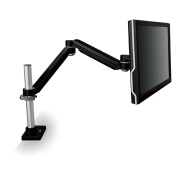 3M Desk Mount for Flat Panel Display - 20 lb Load Capacity - Black MA260MB
