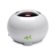 AYL (TM) Portable Mini Speaker System for PC / Phone / Tablet / Apple iPod Touch / iPhone 4 / iPad / MP3 Player (Pearl White)