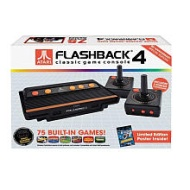 Atari Flashback 4 Classic Game Console in Black
