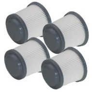 Black and Decker PVF110 Filters for PHV1810 / PHV1210 Pivot Vac 4-Pack
