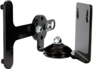 Cavus Adjustable Black Wall Mount Bracket for Sonos Play:3