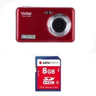 Vivitar 12.1MP with 2.7 TFT Digital Still Camera (DVR947-RH-KHL)
