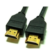 HDMI To HDMI Cable 1M Gold Plated - For Use With HD TV's,Xbox 360,PS3.