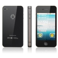 Quad Band Dual SIM 3.5 Inch capacitive multi-Touch Screen Android 2.3 GPS WIFI Smart Phone