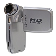 Aiptek HD Digital Camcorder - Silver (A-HD 1080P)