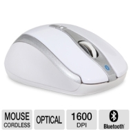 Gear Head Optical Wireless Mouse Bt9400wht - Mouse - Optical - 5 Butto Bt9400wht