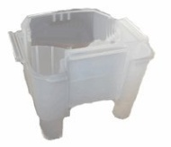 Hoover Recovery Tank With Duct Assembly - Frost Translucent (38777106)