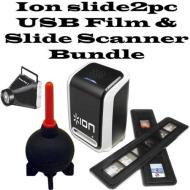 Ion slide2pc USB Film & Slide Scanner Bundle