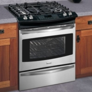 "Elite 30"" Slide-In Dual Fuel Range 4104"