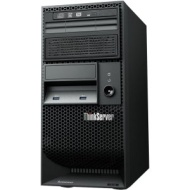 Lenovo ThinkServer TS140 70A4001LUX 5U Tower Server (3.2 GHz Intel Xeon E3-1225 v3 Processor, 4 GB ECC RAM, No HDD, DVD-ROM, No OS) Black