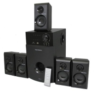 New 5.1 Multimedia Powered Home Theater Surround Sound Speaker System Ts514
