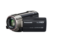Panasonic V720 Full HD Camcorder - Black (20.4MP, 1920 x 1080P, New MOS High Sensitivity Sensor, 50x Intelligent Zoom) 3 inch LCD