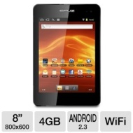 "Velocity Micro Cruz T408 4GB 8"" Capacitive Touchscreen Android Tablet"