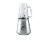 Kenwood SB054 Compact 2 Speeds Smoothie Maker Silver with 2 Travel Mugs