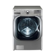 LG WM8000HVA 5.2 Cu. Ft. 14-Cycle Mega Capacity High-Efficiency Steam Front-Loading Washer - Graphite Steel