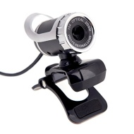 Andoer® USB 2.0 12 Megapixel HD Camera Web Cam 360 Degree with MIC Clip-on for Desktop Skype Computer PC Laptop