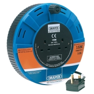 Draper 72719 15 m Twin Cable Reel