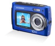 "Hyundai FUN-C-10000 - Cámara compacta de 10 Mp (pantalla de 2.7"", estabilizador de imagen digital) color azul"