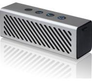 IWANTIT IPBTB16 Portable Bluetooth Wireless Speaker - Gun Metal & Black