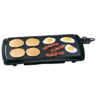 "Presto 10-1/2"" x 20-1/2"" Cool Touch Griddle"