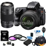 Sony Alpha SLT-A37M 18-135 Incl. Sony-Objectief 12 maanden garantie