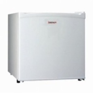 Igenix BC50 Counter Top Fridge With Lock White