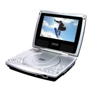 jWIN JDVD760  7-Inch TFT-LCD Portable DVD Player