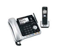 AT&T TL86109 - TL86109 Two-Line DECT 6.0 Phone System with Bluetooth