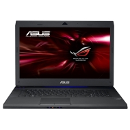 Asus G73JH-TZ227V 43,9 cm (17,3 Zoll) Notebook (Intel Core i7 740QM, 1,7GHz, 8GB RAM, 1TB HDD, ATI HD 5870, Blu-ray, Win7 HP) schwarz