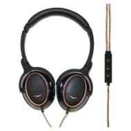 Klipsch Reference ONE Premium On-Ear Headphones w/ Mic & Apple Control (Black)