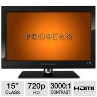 """Proscan PLEDV1520A 15"""" LED HDTV/DVD Combo"""