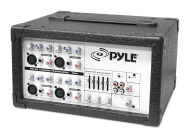 Pyle 150 Watt 4 Channel Powered PA Mixer/Amplifier