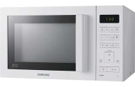 Samsung White Combination Microwave Oven and Grill