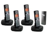 Wireless Door Entry Intercom Four DECT Phone and Door Bell