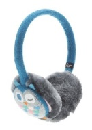 Kitound Audio Eauffs for iPod, iPhone, iPad and MP3 Player - Blue Owl