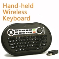 Palm Sized Mini Wireless Windows Media Center MCE Keyboard/Remote Control with Mouse Track for Windows XP/Vista/7 PC/HTPC Xbox 360/PS3