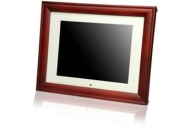 Smartparts SP92 8.5-inch Digital Picture Wood Frame with Beige Matting (Ebony)