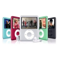 "4GB AudioTech Square 1.8"" TFT MP3/MP4/Video Player - Pink"